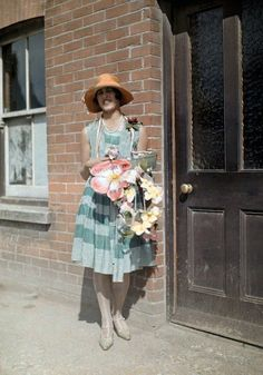 In 1928, photographer Clifton R. Adams was commissioned by the National Geographic to document life in England. Adams' Autochromes—a process of producing color images by using potato starch—present images that are seemingly at odds with the historical reality of the time, capturing the last of an England that was on the cusp of an irreversible change during the about the 1930s Depression.
