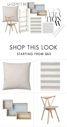 """""""open shelves"""" by rehannah-o ❤ liked on Polyvore featuring interior, interiors, interior design, home, home decor, interior decorating, Bloomingville, Pier 1 Imports and openshelving"""