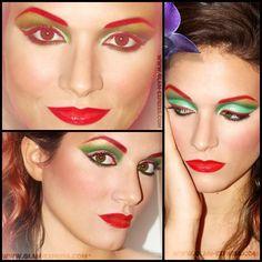 Poison Ivy Makeup Tutorial - Glam Express