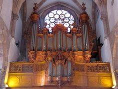 Strasbourg,Eglise protestante St-Thomas, Buffet d'orgue et garde-corps de tribune du XVIIe-XVIIIe, Orgue Jean-André Silbermann (1740)