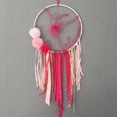 ⭐️ Louane ⭐️ Attrape rêve grand model pour une jeune fille qui viens tout juste de fêter son 10eme anniversaire  #attrapereve #danse #danseuse #dance #rose #pink #louane #jeunefille #cadeaudanniversaire #ideecadeau #decofille #handmadewithlove #homemade #madeinfrance #madeincorsica