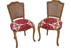 French Country Caned Chairs, Pair on OneKingsLane.com