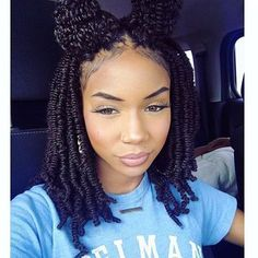 HAIRSPIRATION  In love with these nubian twists on @lyricfitthemelody Perfect #protectivestyle for the summer☀️ #voiceofhair