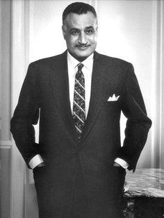 الزعيم العربي جمال عبد الناصر