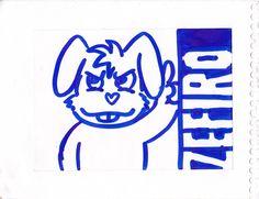sticker by zefiro viera almasy