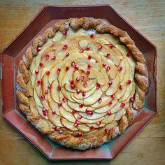 Apple-Pomegranate Tart | CASA & Company