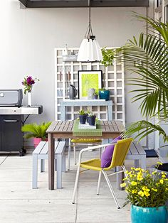 Longing for an outdoor retreat but not sure where to start? Here are 18 simple ways to create a stylish, inviting outdoor room.