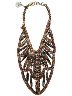 Sveva Collection Embellished Necklace - Gente Roma - farfetch.com