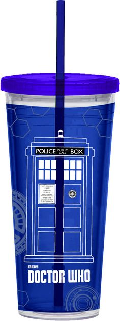 Doctor Who 24 oz. Acrylic Travel Tumbler