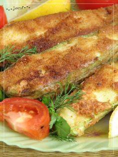 Кабачковые сэндвичи с сыром в хрустящем кляре - кулинарный рецепт