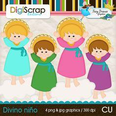 Divino niño Fairy Princesses, Card Maker, Party Printables, Scrapbook Pages, Religion, Clip Art, Parties, Fictional Characters, Graphics