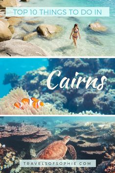 Looking for Cairns things to do? Discover the best things to do in Cairns from the Great Barrier Reef to waterfalls, day trips & more. Perth, Brisbane, Sydney, Cairns Australia, Visit Australia, Western Australia, Australia Holidays, Australia Trip, Australia Beach