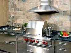 Optimizing an Outdoor Kitchen Layout | Outdoor Design - Landscaping Ideas, Porches, Decks, & Patios | HGTV