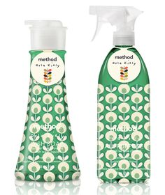 If It's Hip, It's Here: Spring Cleaning! New Orla Kiely Designs For Method.