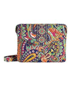 Venetian Paisley Tablet Hipster Crossbody Bag by Vera Bradley #zulily #zulilyfinds
