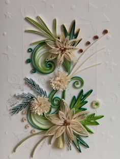Neli Quilling Art: Quilling cards - Christmas