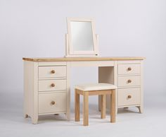 Camden Stool - This high quality range of bedroom, living room and dining room furniture has tongue and groove drawers, contrasting wooden handles and solid ash tops that are lightly lacquered.