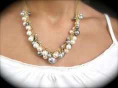 I'm addicted to pearls so I would wear this in a heartbeat!