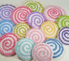 Pretty Scrubbies: free crochet pattern