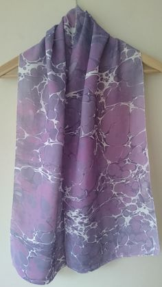 Check out this item in my Etsy shop https://www.etsy.com/listing/259238408/marbling-art-with-painted-scarf-lavanter