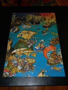 Transatlantic by Marino Degano, Heye, 1000 pieces (1995)