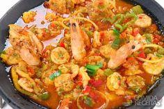 Receita de Paella de frutos do mar - Comida e Receitas