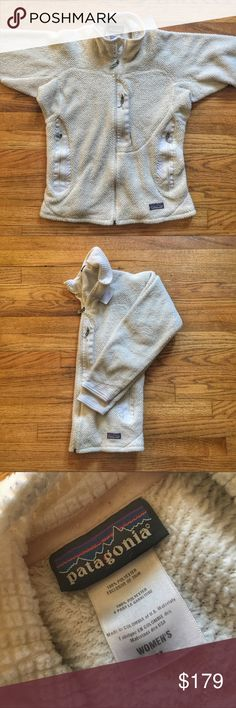 Patagonia Women's R1® Full-Zip Fleece Jacket Patagonia Women's R1® Full-Zip Fleece Jacket.  Pre-owned in excellent condition.  Size medium.  Color cream/off-white.  Get it cheaper on Ⓜ️erc.  See something you like but it's not here next week? We sell in store and across multiple platforms, so items go quick! If you're interested, act on it before you lose it! Patagonia Jackets & Coats