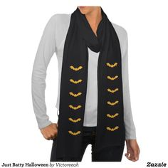 Just Batty Halloween Scarf