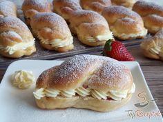 Hot Dog Buns, Izu, Nutella, Hamburger, Cake Recipes, Food And Drink, Bread, Baking, Breakfast