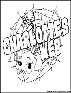 use this type of font for the saying of Charolette's baby