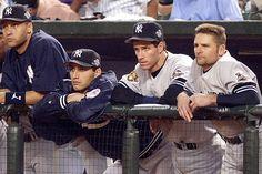 Derek Jeter, Andy Pettitte, Paul O'Neill, and Chuck Knoblauch