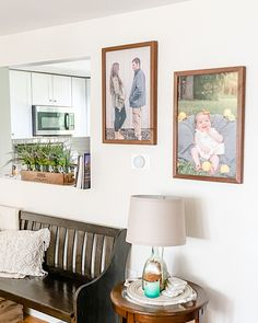 I am LOVING how these prints from Smallwoods look in our living room! What a special addition to our decor that represents our newest addition 🥰 Plus they are having a great summer sale right now! Save up to 70% off custom wall art!