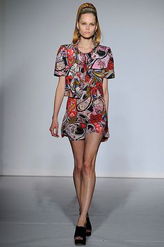 PPQ SS13 - London Fashion Week, High 60's ponytail. Nice. What do you think?