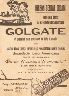 Golgate ou Colgate Pasta para dentes