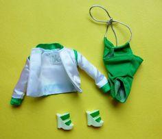 """12"""" Fashion Royalty~Dynamite Girls Boogie Beach TJ Green Swim Outfit    eBay"""