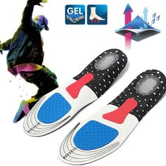 Men women gel orthotic #sport running insole insert shoe pad arch #support #cushi,  View more on the LINK: http://www.zeppy.io/product/gb/2/152098216258/