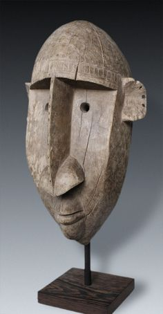 Great mask of the Ntomo-Society, Bamana-peoples, Mali - Art Curator & Art Adviser. I am targeting the most exceptional art! See Catalog @ http://www.BusaccaGallery.com