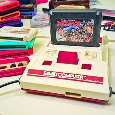 Interesting one by tstjoyce #famicom #microhobbit (o) http://ift.tt/1TflG88 off the weekend with some old school gaming. Famicom style!  #gaming #weekend #games #retro #retrogames #retrogaming  #familycomputer #nintendo #shonenjump #anime #manga #jrpg #rpg #fighting #adventure #otaku #japan #japanese #japanesegame