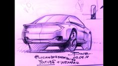 Sketching cars together live on my youtube channel