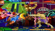 Dream Match mode. Street Fighter Alpha 3