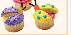 Ladybug Cupcakes  *original pin*