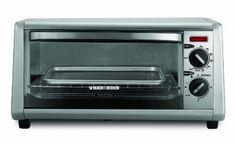 Black & Decker 4-Slice Toaster Oven, Silver Black & Decker http://www.amazon.com/dp/B008YS1WWK/ref=cm_sw_r_pi_dp_aIWywb0DP9H2V