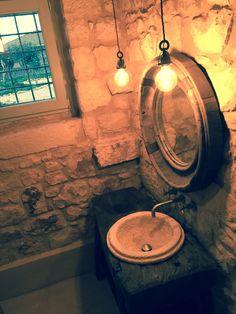 Bathroom furniture upcycled
