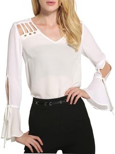 Cheap Fashion online retailer providing customers trendy and stylish clothing including different categories such as dresses, tops, swimwear. Sleeves Designs For Dresses, Simple Shirts, Blouse Dress, Corsage, Blouse Designs, Stylish Outfits, Blouses For Women, Fashion Online, Fashion Dresses