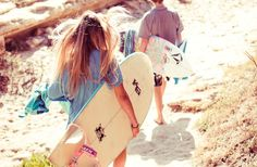 A good day to surf photography summer beach ocean Pink Summer, Summer Of Love, Summer Beach, Summer Vibes, Summer Fun, Summer Days, Summer Things, Summer Dream, Summer Feeling