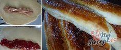 Recept Jemné, nadýchané a lahodné sladké domácí rohlíky Hot Dog Buns, Hot Dogs, Nutella, French Toast, Bread, Breakfast, Food, Morning Coffee, Brot