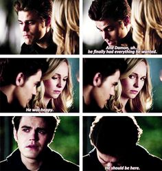 "Season Finale ""He should be here"" Poor Stefan ): {by Paria}"