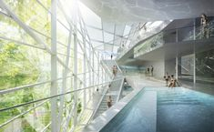 Schwimmbad, Salzburg, HMGB Architekten, Wettbewerb
