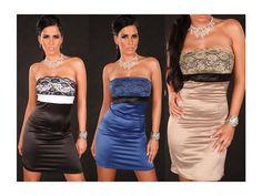 Společenské šaty KOUCLA s krajkou SKLADEM, PROM PARTY dress with lace IN STOCK, we ship worldwide drop us email on info@bestmoda.cz