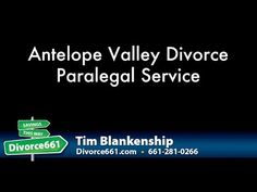 Antelope Valley Divorce Service | Divorce Paralegal  This video is about the divorce service in Antelope Valley. We provide a 100% online divorce service for the folks in Antelope Valley. Check out the video below to know more about the services we provide.